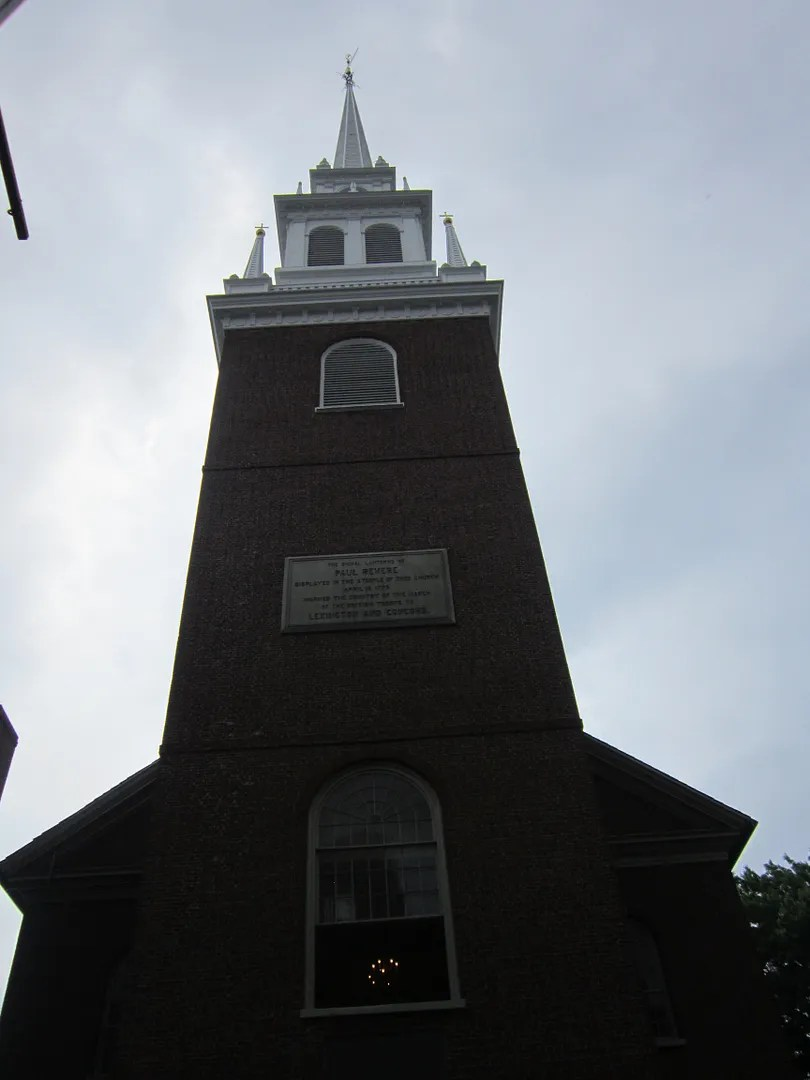 Old North Church, Freedom Trail, Boston