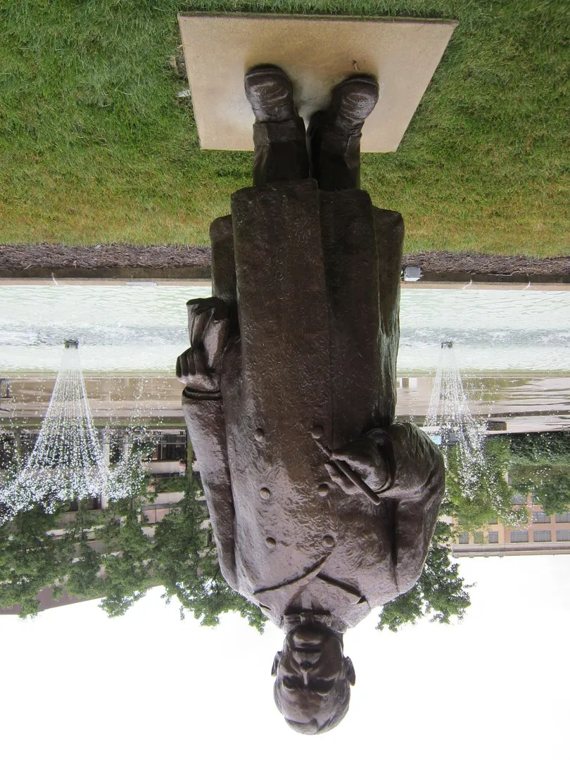 H. A. Harry Toulmin Sr. statue, Springfield, Ohio