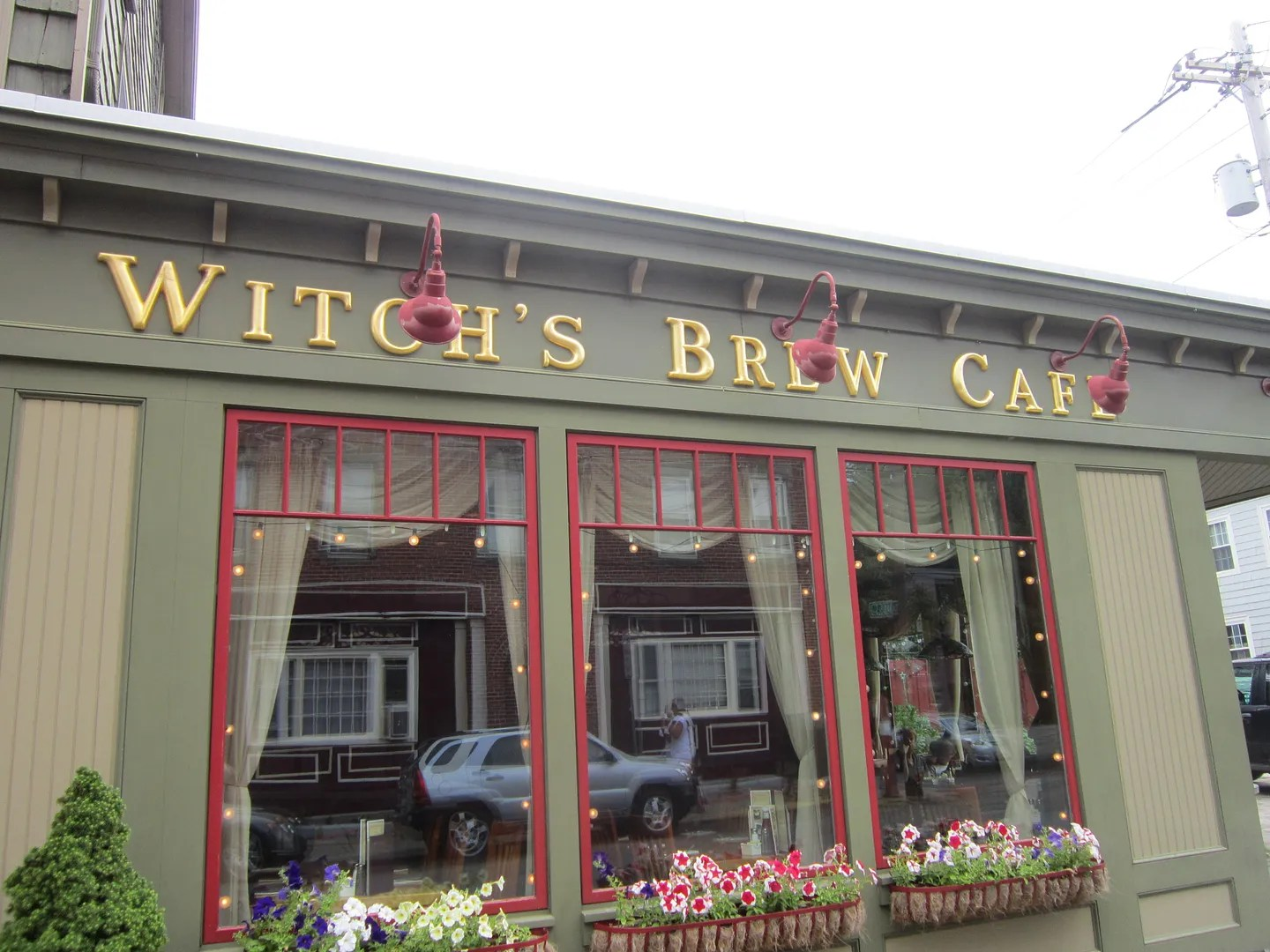 Witch's Brew Cafe, Salem, Massachusetts