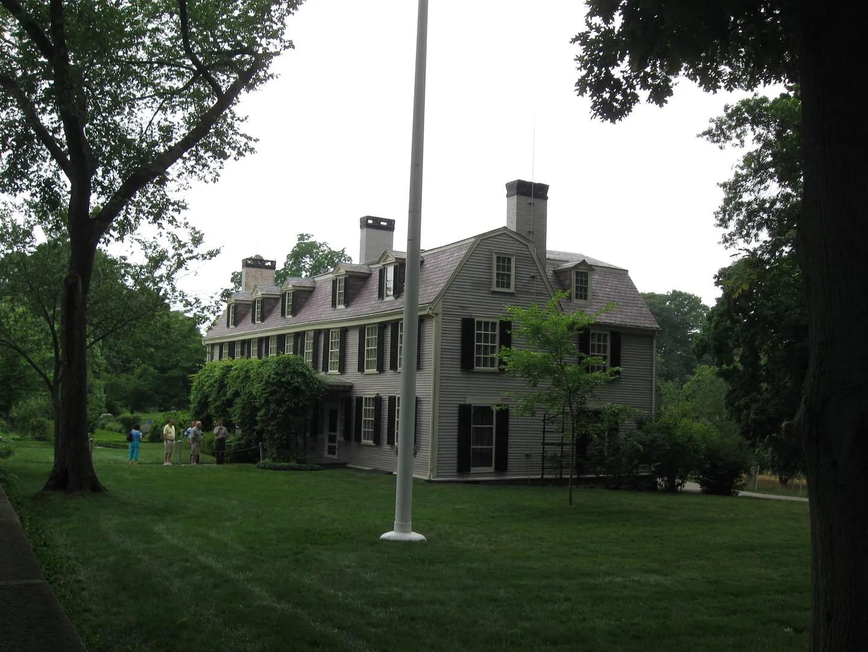 John Adams old house, Quincy, Massachusetts