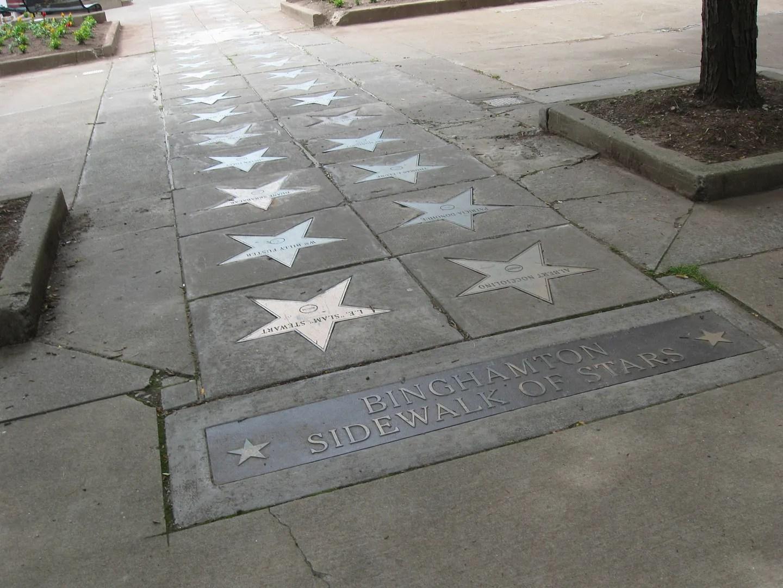 Binghamton Sidewalk of Stars