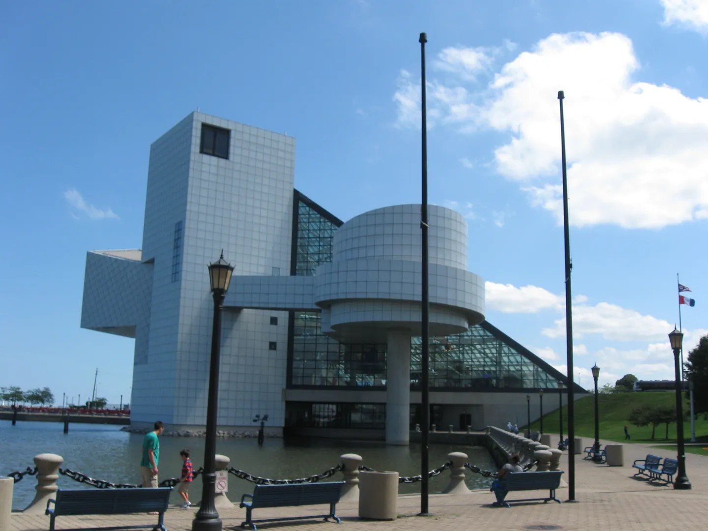 Rock and Roll Hall of Fame Museum, Cleveland, Ohio