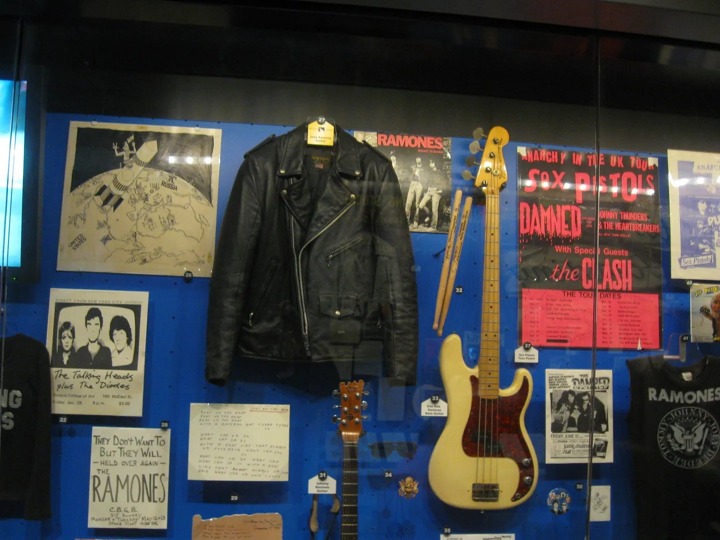 Joey Ramone jacket, Cleveland, Ohio