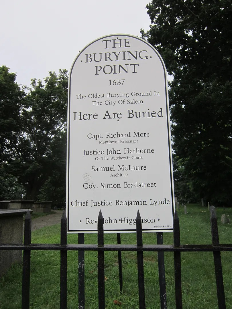 Burying Point, Salem, Massachusetts