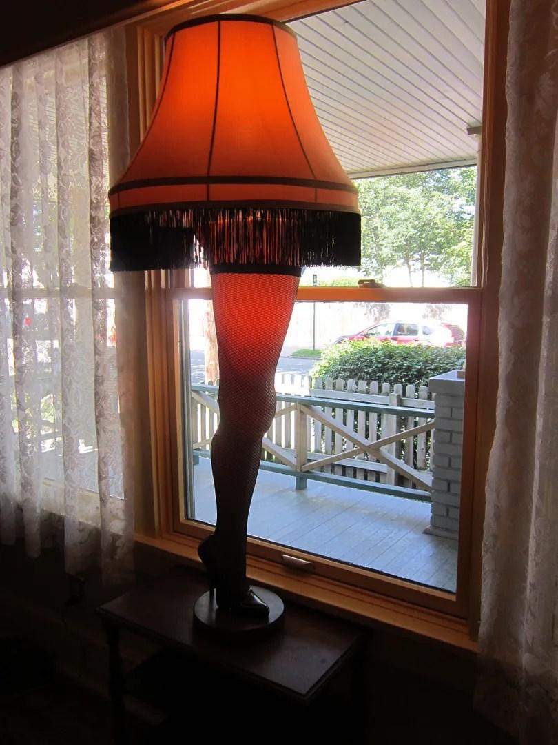 leg lamp, major award, A Christmas Story