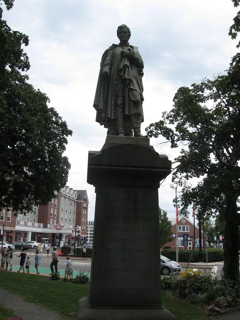 Theobald Mathew, Father Mathew, Salem, Massachusetts