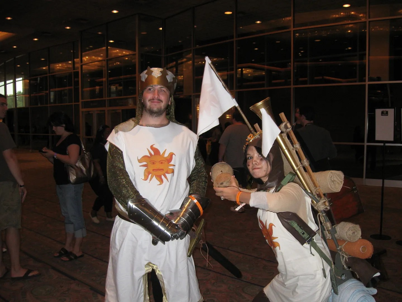 King Arthur, Monty Python, Wizard World Chicago 2013