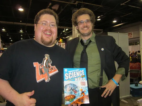 Josh Blasingame, Aaron Walther, Science Hero, New Haven Press