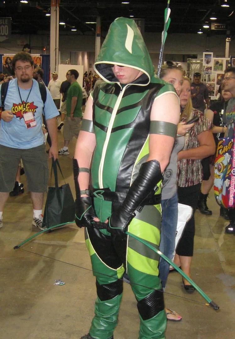 "Green Arrow, star of TV's ""Smallville"""