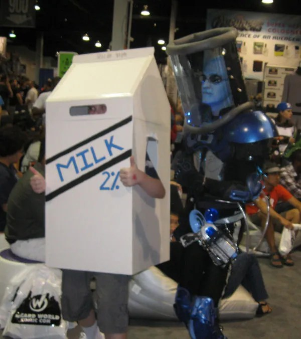 Dr. Milk and Mr. Freeze