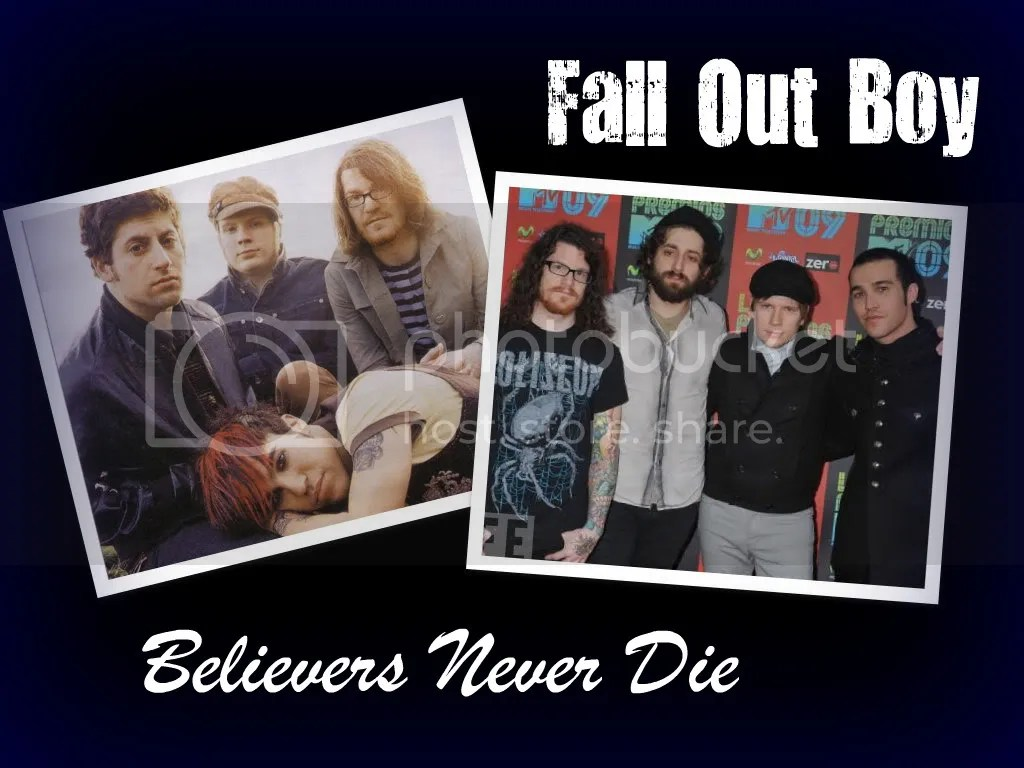 Fall Out Boy Believers Never Die Wallpaper Fall Out Boy Believers Never Die Wallpaper Background