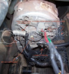 280zx alternator is my vr bad wrong alt pics  [ 1152 x 864 Pixel ]