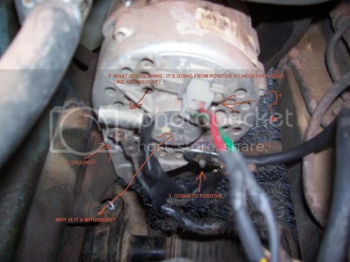 small resolution of 280zx alternator is my vr bad wrong alt pics
