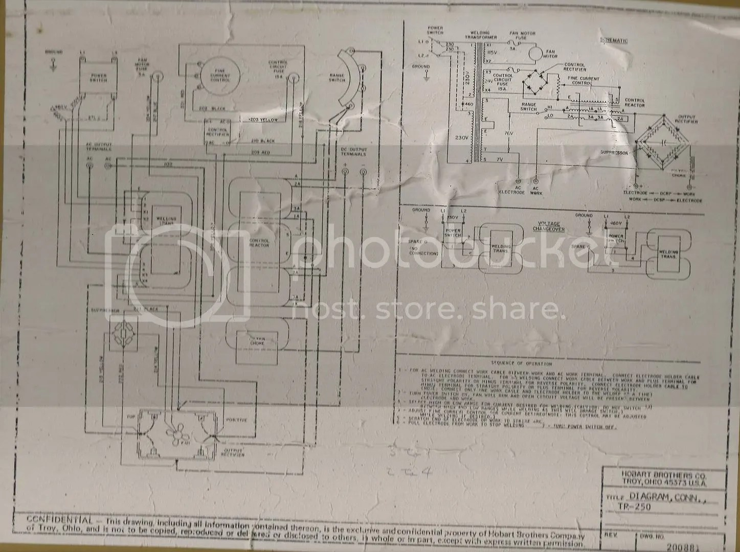 miller 250 welder wiring diagram upper thermostat electric water heater welding circuit schematic best library scr control and breaker tripping archive