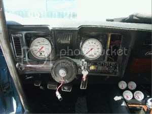 1969 In Dash 5 Autometer tach and speedo  Team Camaro Tech
