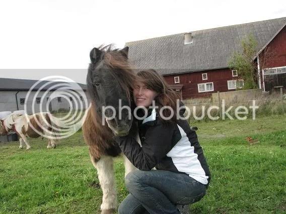 Jag och min första lilla häst!