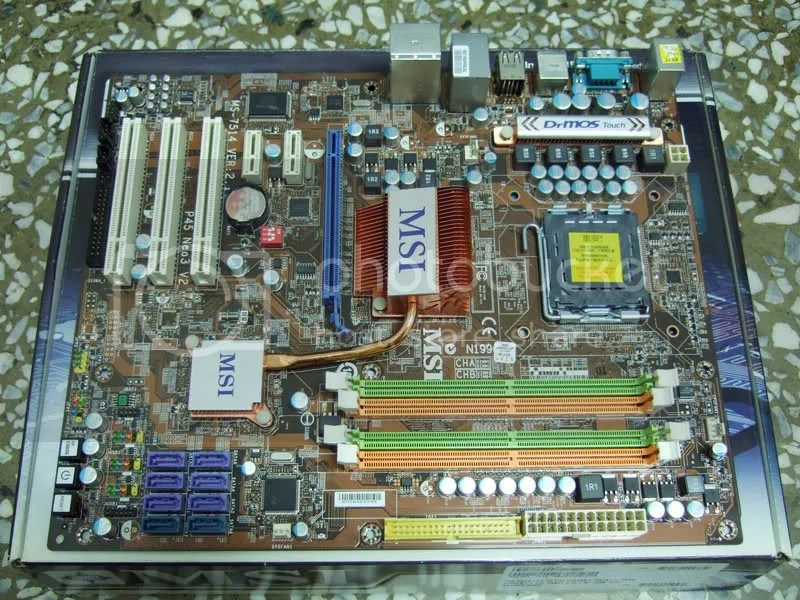 微星 MSI P45 NEO3 V2 高階775主機板ICH10R - PCDVD數位科技討論區