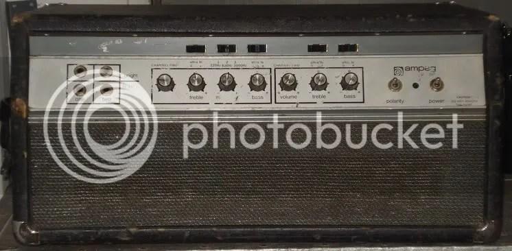 FS Vintage 1970s Ampeg SVT Head  TalkBasscom