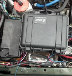fuse block to the firewall with not extending any wires other than a couple grounds and a handfull for markers sensors at the grill  [ 1024 x 768 Pixel ]
