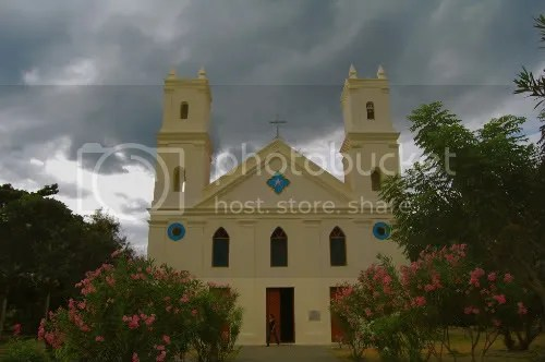 Manatuto East Timor Portuguese church