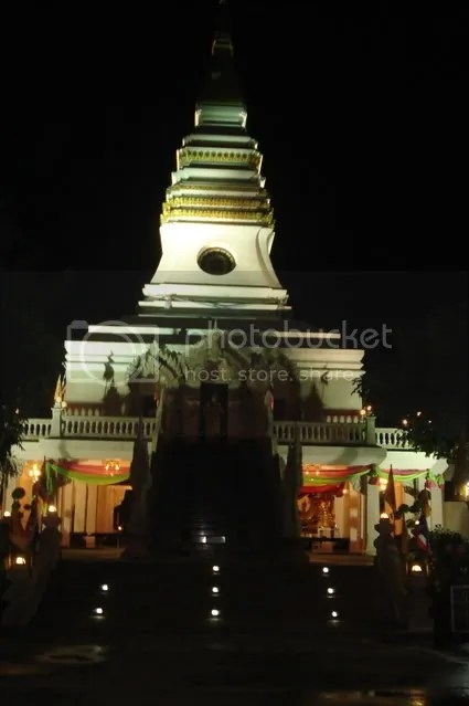 temple at night