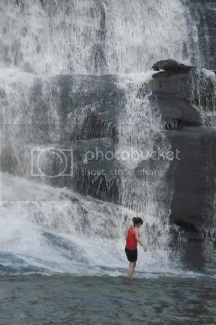 me at the waterfall