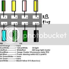 Ka24de Wiring Diagram Enclosed Trailer Ka Plugs On Rb - Nissan Forum | Forums