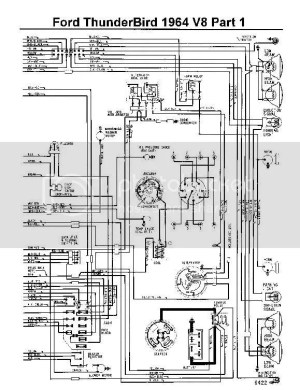 64 Fuse Box Diagram  Vintage Thunderbird Club International