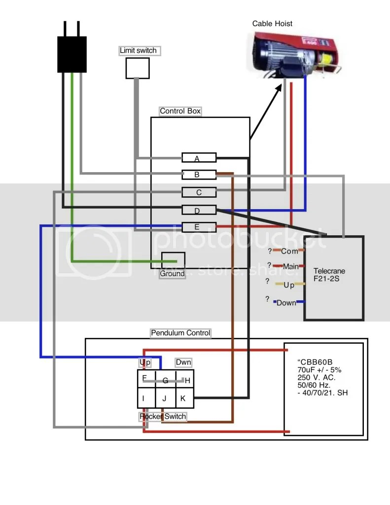 winch contactor wiring diagram 2jz alternator electric hoist pictures to pin on pinterest - pinsdaddy