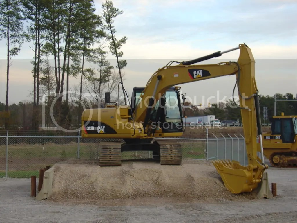 hight resolution of new cat 312d