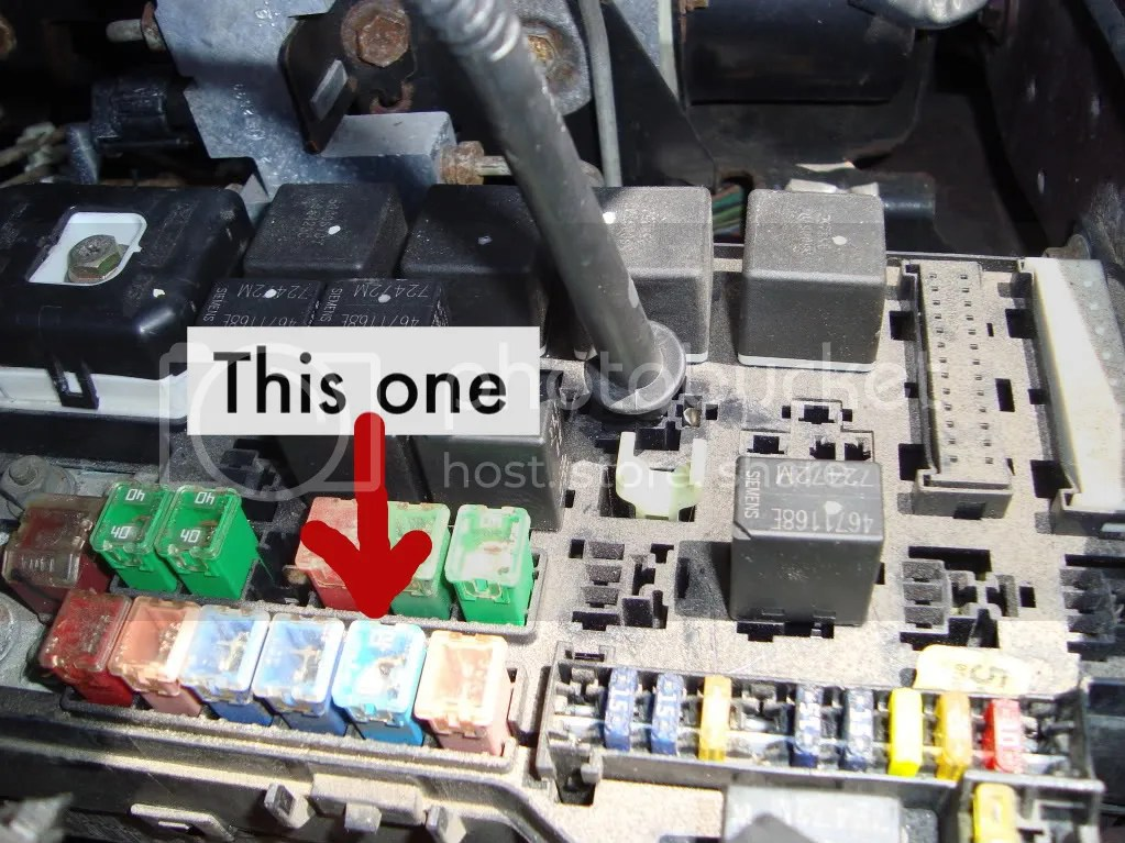 2003 Grand Am Fuse Box Brake Lights Wont Go Out Need Quick Temp Fix Dodge