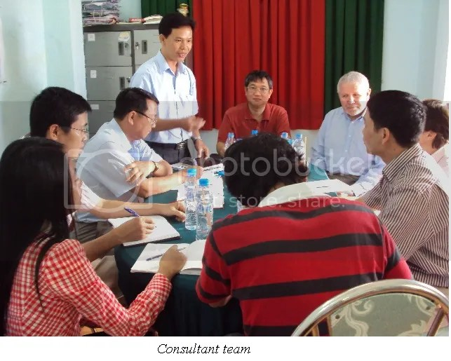 Meeting at An Giang province - Mekong Delta Water Supply Program