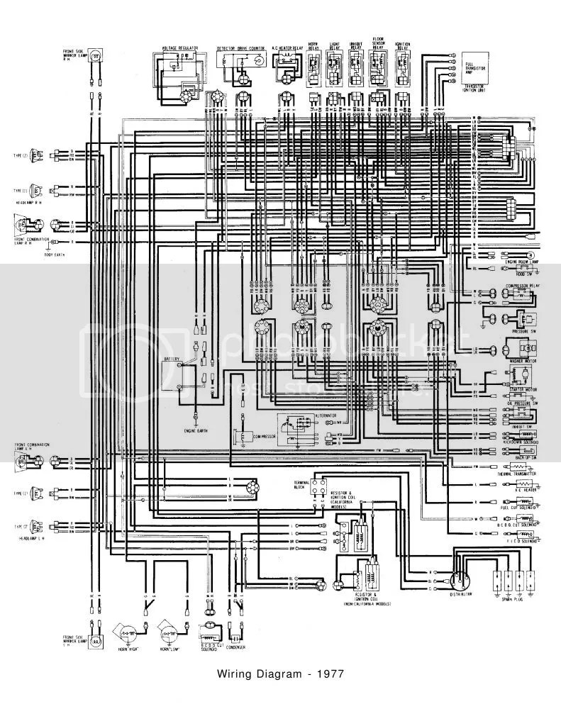 hight resolution of 1977 620 wiring diagram electrical ratsun forums1977620wiringdiagram1of2 zps9f034e17 jpg