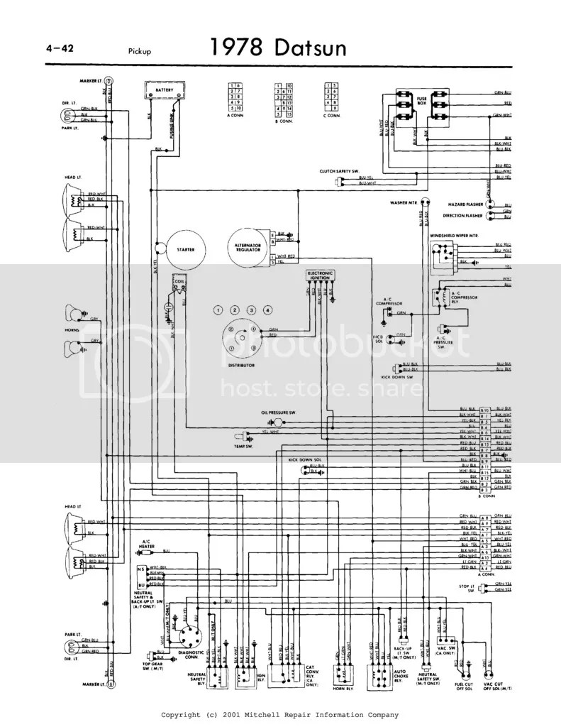 hight resolution of photo 1978 620 wiring diagram 1 of 2 jpg datsun