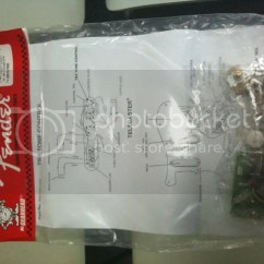 Wiring Diagram Stratocaster Real Number System Wts: Brand New Fender Eric Clapton Pre-amp Mid Boost Kit 25db