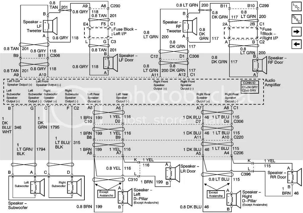 Search Results Wiring Diagram For 2003 Silverado With Bose