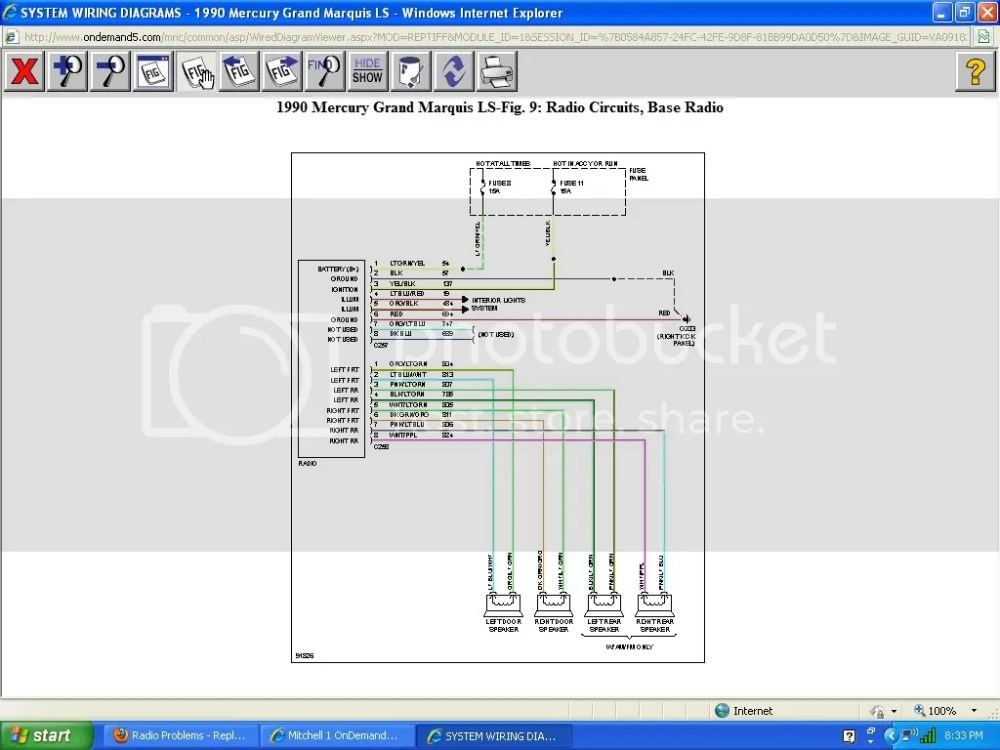 medium resolution of here is the m100 radio diagram 1990