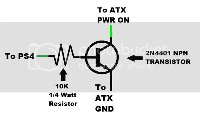 Powering a PS4 with an ATX powersupply