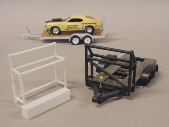 Trailers, Toolboxes & Tire Racks