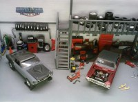A tour of the American Muscle Car Garage - HobbyTalk