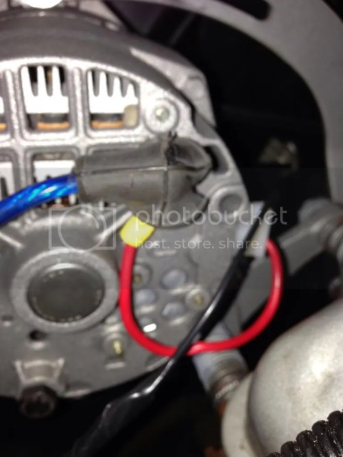 small resolution of it read 14 4v at idle on the batt on the alternator