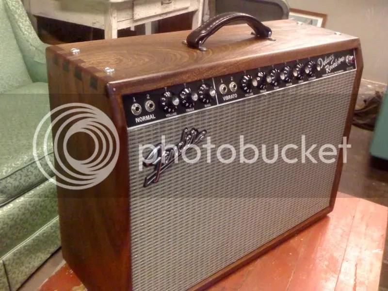 pix of Custom built guitar ampscabs