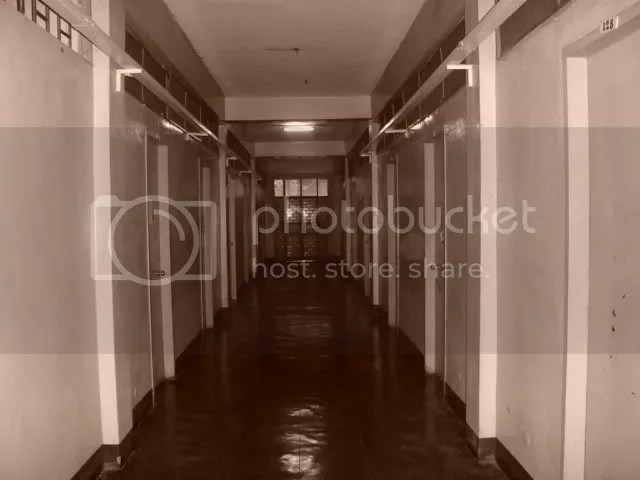 where i live- a dormitory in UP Diliman Campus