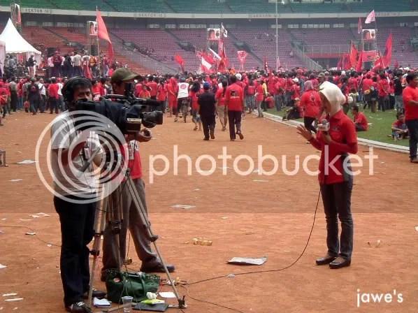 Aksi reporter tvOne