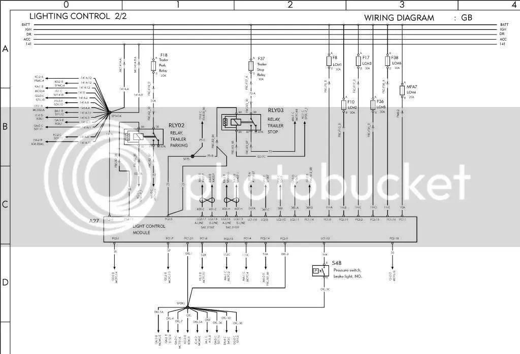 volvo vnl truck wiring diagrams