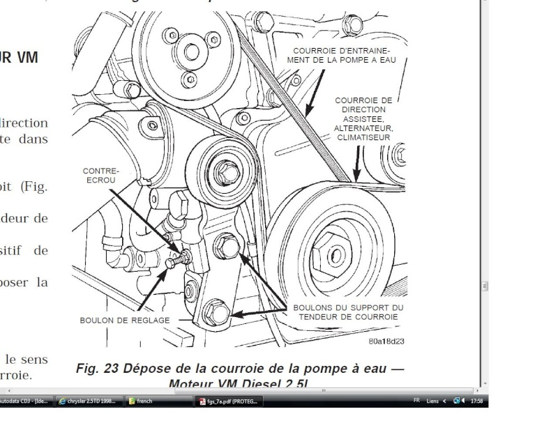 chrysler 2.5TD 1998