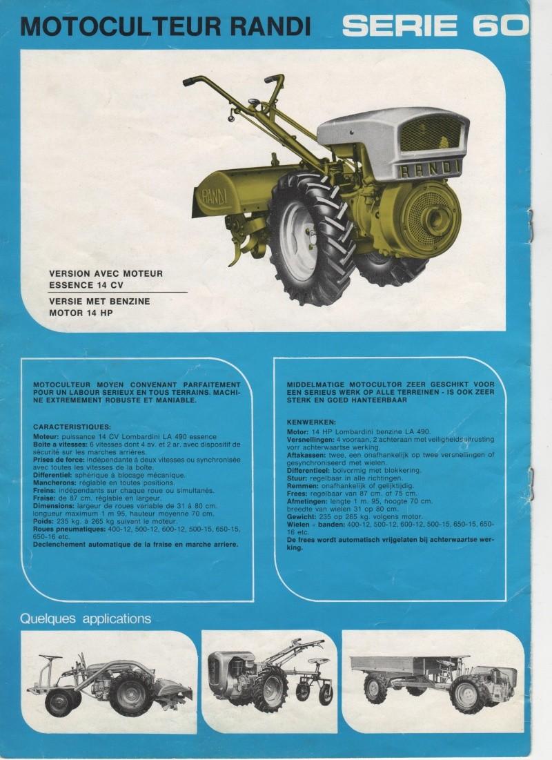 Tracteur Et Motoculteur D'antan : tracteur, motoculteur, d'antan, MOTOCULTEUR, RANDI, TRACTEUR, ARTICULE