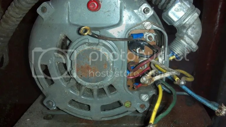 Help On Wiring A Drum Switch To A Single Phase 230v Motor Motorcycle