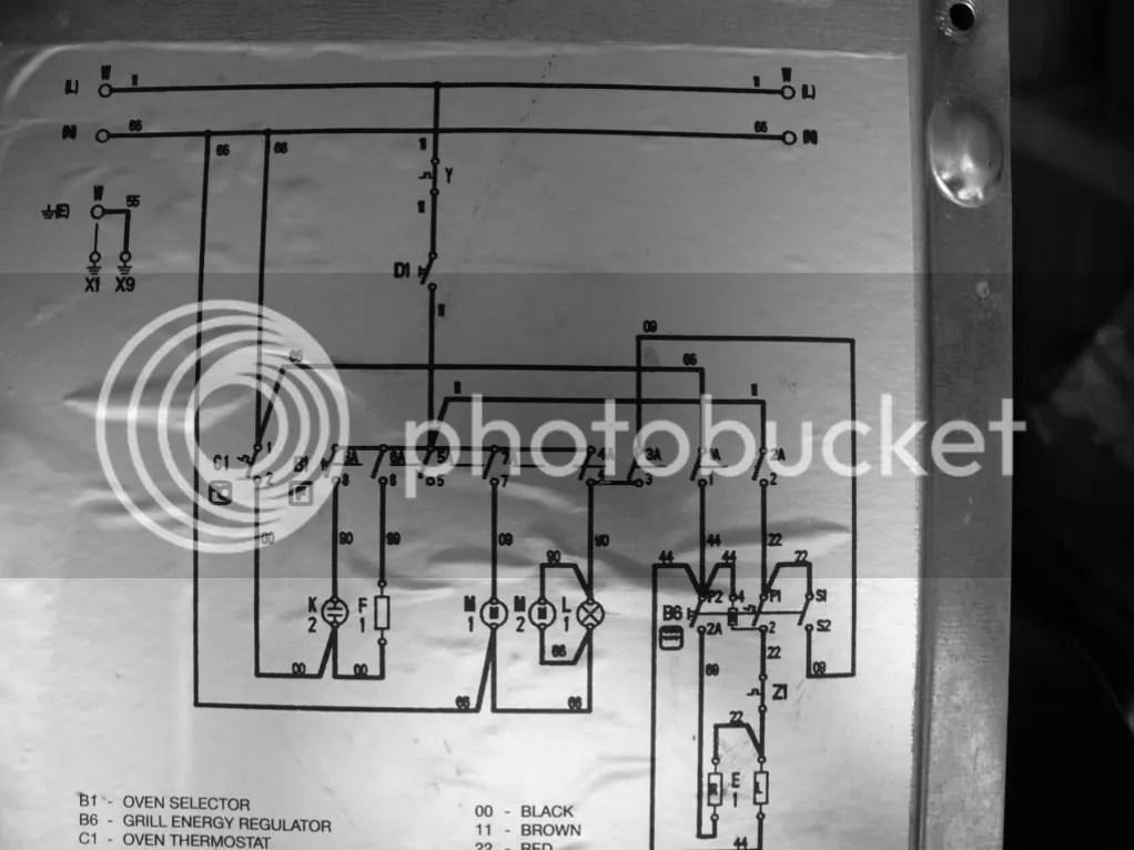 Oven Wiring Schematic