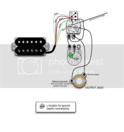 single humbucker wiring my les paul forum rh mylespaul com 3 single coil pickups wiring diagram [ 809 x 1023 Pixel ]